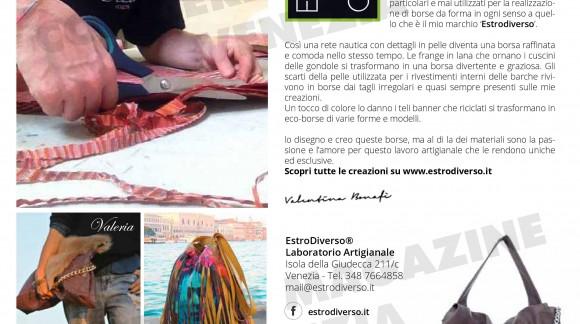 Estrodiverso  sul Corriere Magazine Venezia, numero di febbraio 2016.